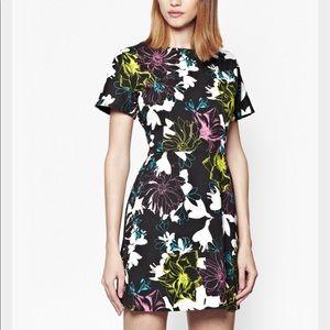French Connection Botanical Mini Dress